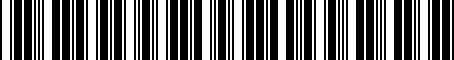Barcode for 0817276800