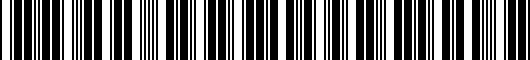 Barcode for PT34776100HW
