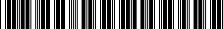 Barcode for PT34776110